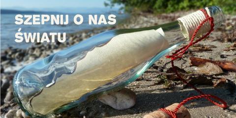 Butelka wyrzucona z morza